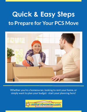 Quick and Easy Steps to Prepare for Your PCS Military Move